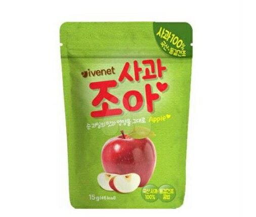 【淘氣寶寶】韓國ivenet艾唯倪果乾脆片-蘋果