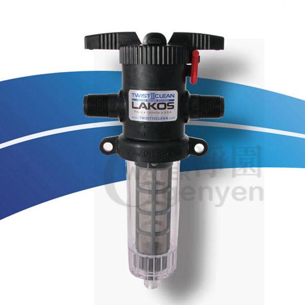 [淨園] 美國水樂 Lakos T2C管道保護器(全戶式反洗式過濾器)