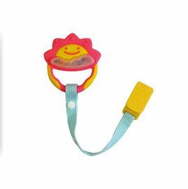 Richell利其爾 - 固齒器 粉紅色一般型 (附固定夾)