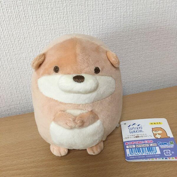 【角落生物 絨毛玩偶】角落生物 絨毛 玩偶娃娃 水獺 露營 日本正版 該該貝比日本精品