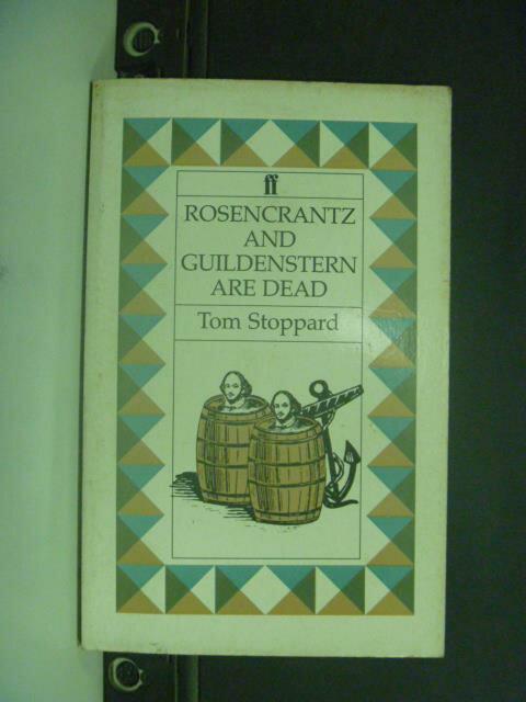 【書寶二手書T8/原文小說_GGZ】Rosencrantz and Guildenstern Are Dead_Stop
