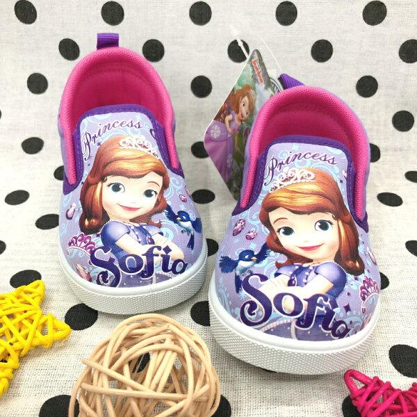 【巷子屋】蘇菲亞小公主-童款運動休閒鞋[67707]紫MIT台灣製造超值價$200