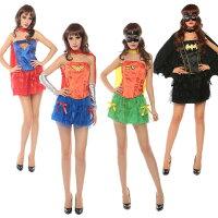 蝙蝠俠與超人周邊商品推薦萬聖節神力女超人蝙蝠俠Cosplay蓬蓬裙角色扮演夜店halloween服裝