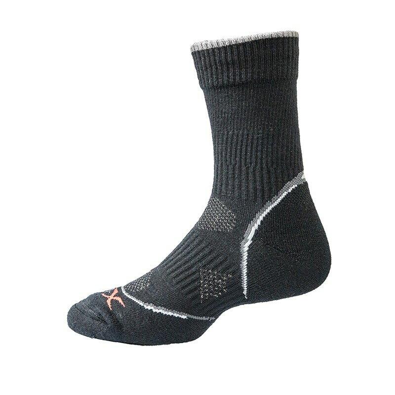 戶外避震抗菌銀纖維美麗諾羊毛襪 L (26~28) 羊毛襪 抑菌 除臭 保暖 抗寒 避震 登山 攀岩 0