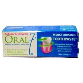 ORAL7 口立淨7保濕牙膏 75ML/條【DR34】◆德瑞健康家◆
