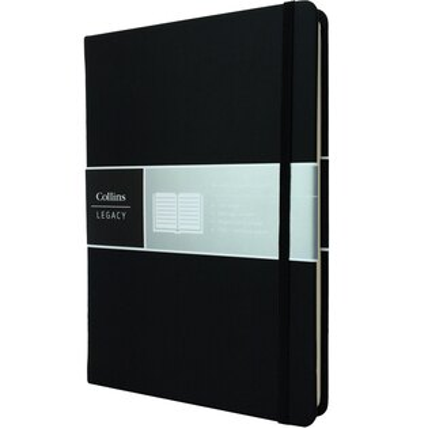 健康朝陽BRISUN:英國CollinsLegacy系列-A5黑色(點點內頁)CL53ND-01