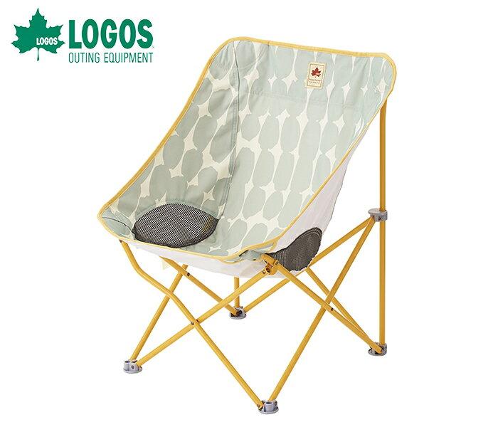 【露營趣】中和安坑 LOGOS LG73170051 大圓點舒適休閒椅 療癒椅 休閒椅 折疊椅 童軍椅