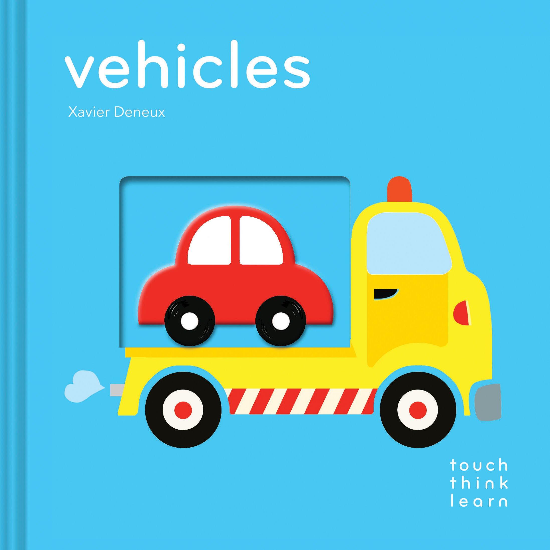 Touch Think Learn:Vehicles 交通工具 厚紙硬頁認知書