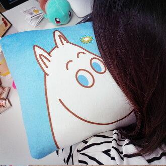 PGS7 日本卡通系列商品 - 嚕嚕米 Moomins 午安枕 抱枕 娃娃 小肥肥一族【SFK61257】