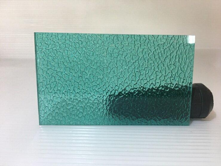 3mm 綠色顆粒 PC耐力板 PC板 塑鋁板 採光罩 塑膠板 DIY五金