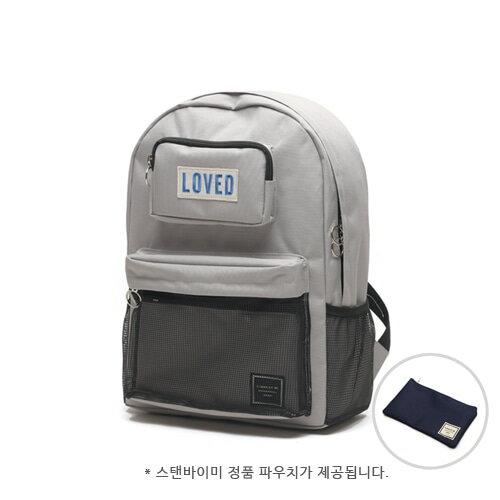 【獨家商品】韓國潮牌 STANd.BY.ME 154 網袋後背包 書包 電腦包 3