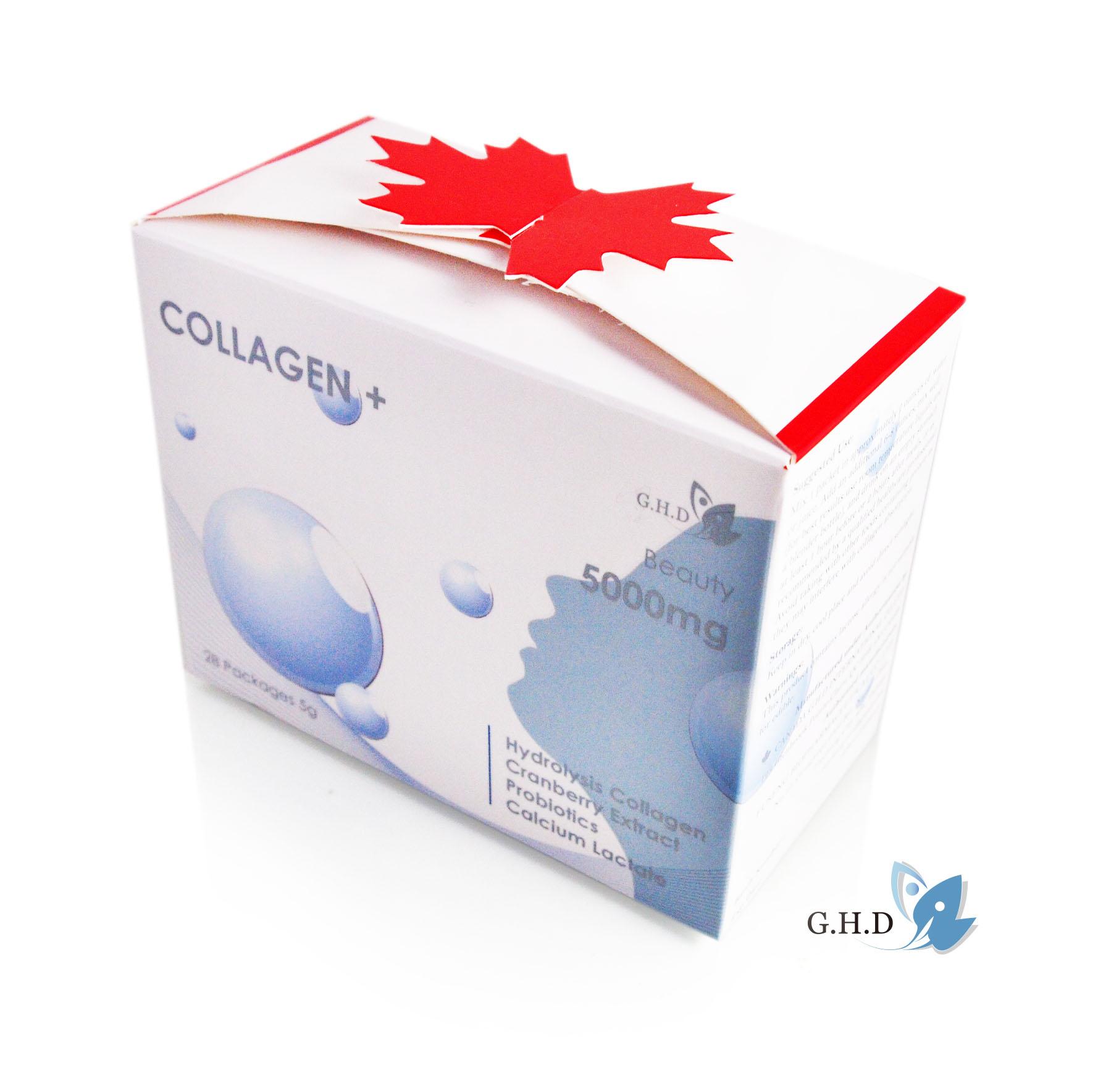 G.H.D 健康美肌蔓越莓 膠原蛋白粉 28包 / 每包5g
