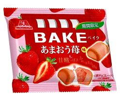X射線【C237126】森永BAKE 草莓巧克力餅,點心/零嘴/餅乾/糖果/韓國代購/日本糖果/零食/伴手禮/禮盒