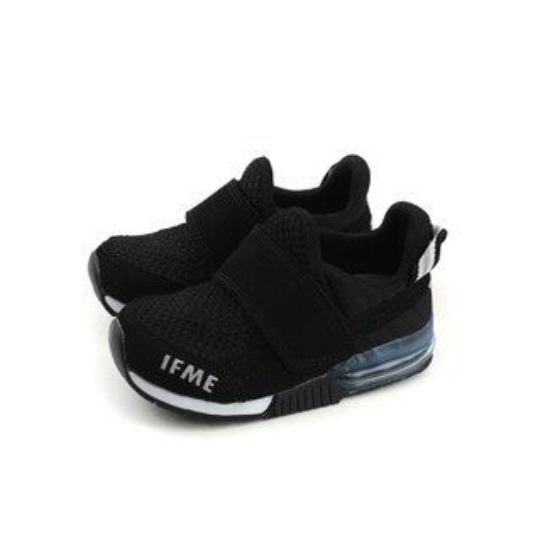 IFME運動鞋機能鞋魔鬼氈黑色中童童鞋IF30-801700no068
