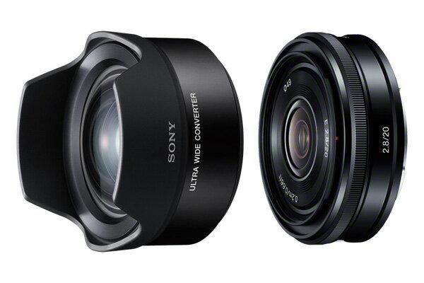 【新博攝影】Sony E 20mm F2.8 廣角鏡頭組合 (含 VCL-ECU2;分期0利率;台灣索尼公司貨)