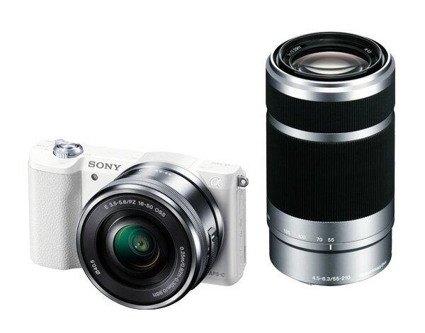 【新博攝影】SONY ILCE-5100Y 雙鏡組 (分期0利率;台灣索尼公司貨;送32G記憶卡、原廠STP-XH1背帶 〈隨機出貨〉、保護貼、清潔組)