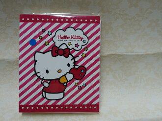 三麗鷗 Hello Kitty 相本 凱蒂貓 拍立得相本 相簿 相片本 相冊 名片本 80入 粉色 斜條紋 另有 Disney Winnie KITTY 底片 海賊 多莉