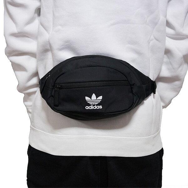 KUMO SHOES-Adidas National Waist Pack 黑  三葉草 腰包 5145678
