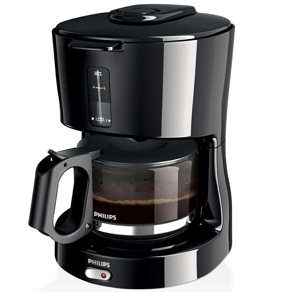 PHILIPS 飛利浦  HD7450/20美式咖啡機 黑 買就送雙層不銹鋼保溫飯盒