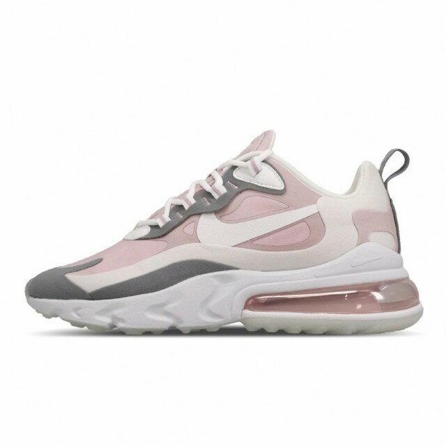 帝安諾-實體店面 Nike Air Max 270 React 女鞋 奶茶 淡紫 乾燥玫瑰 粉紫 CI3899-500►超取399免運