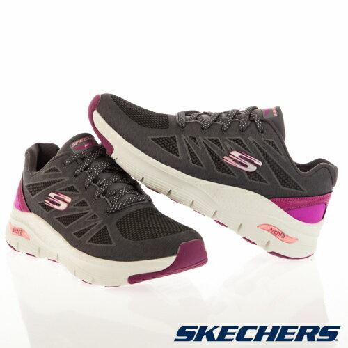 超取$499免運 ▶帝安諾-實體店面 SKECHERS ARCH FIT 灰紫 慢跑鞋 運動 拼接 緩震 透氣 149411CCPK