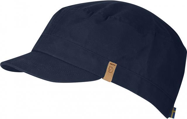 Fjallraven 瑞典北極狐 77279 Sarek Trekking Cap G-1000 復古鴨舌帽/獵裝帽/軍裝遮陽帽 555暗深藍