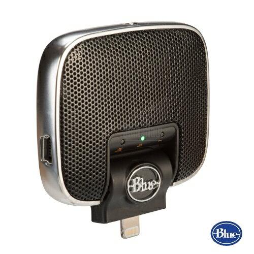 美國BLUEMikeyDigital隨身麥克風適用iPhone和iPad★適合錄製現場聲音兩年產品保固