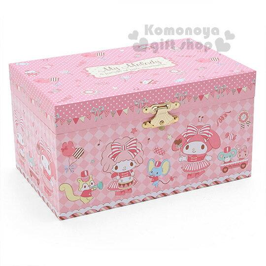 〔小禮堂〕美樂蒂 桌上型珠寶音樂盒《粉.站姿.儀隊裝扮》儀隊遊行系列