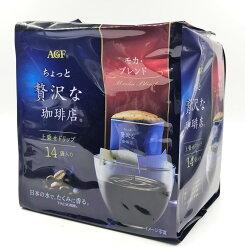 [哈日小丸子]AGF華麗濾式咖啡-摩卡口味(14入)