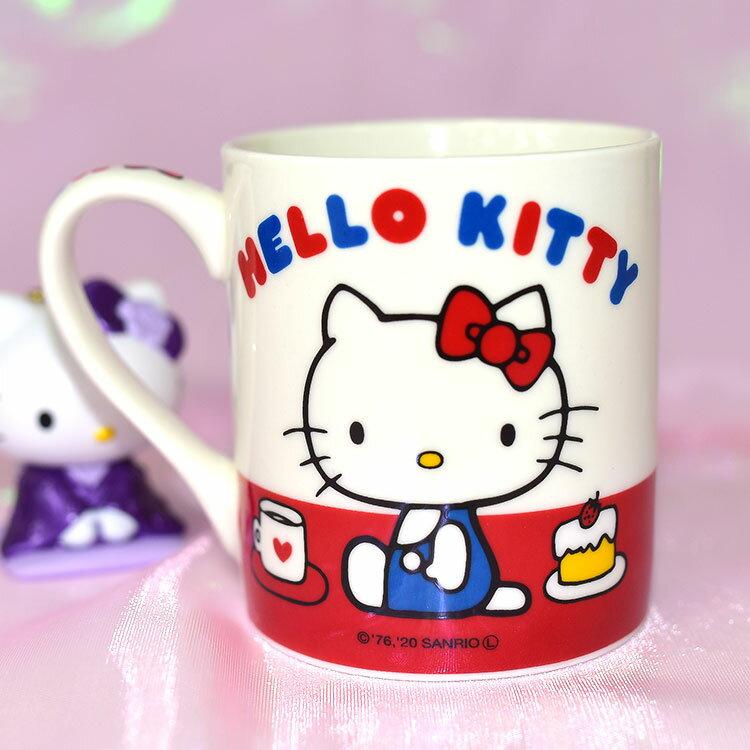Hello Kitty 經典造形 陶瓷馬克杯 SANRIO日本正版 240ml