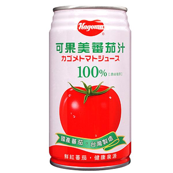 可果美 加鹽 蕃茄汁 340ml (24入)/箱【康鄰超市】