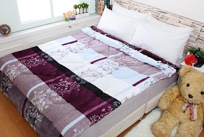 法萊絨/法蘭絨暖暖被/厚毯被_紫戀風情《GiGi居家寢飾生活館》