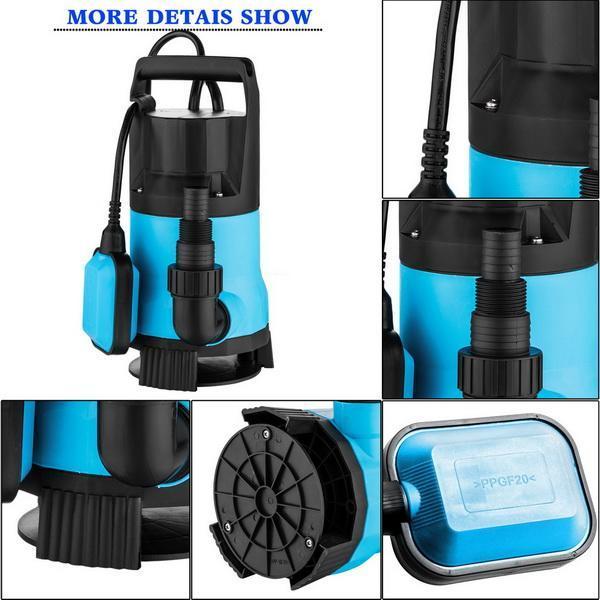550W Enery Saving Clean Submersible Garden Water Pump 3