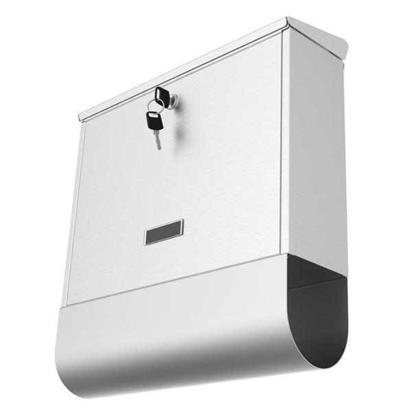 Stainless Steel Mailbox Wall Mount Letterbox Large Size 5