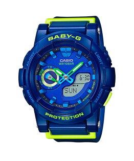 CASIOBABY-GBGA-185FS-2A運動服靈感流行腕錶藍色44mm