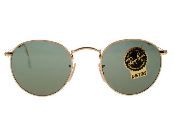 Ray Ban 雷朋 金邊綠鏡色 太陽眼鏡 RB3447 3