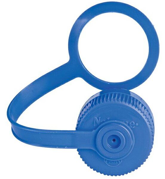 【鄉野情戶外用品店】Nalgene |美國| 53mm寬口水瓶專用蓋-藍色/適用於500cc 寬口水壺/2180-0012