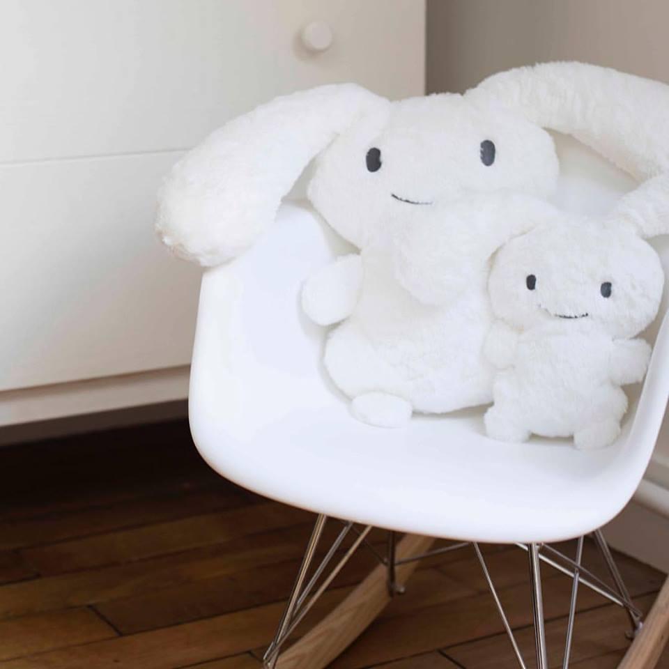 trousselier- 白色超級兔55cm 5