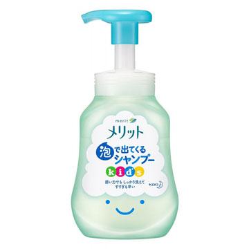 【日本花王】兒童泡沫無矽靈洗髮精 300ml