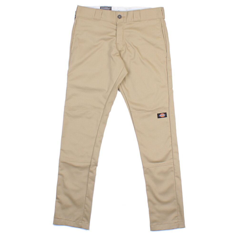 【EST】美版 DICKIES WP811 SKINNY FIT WORK PANTS 窄版 直筒 工作褲 [DK-5005-537] 卡其 W28~36 F0108