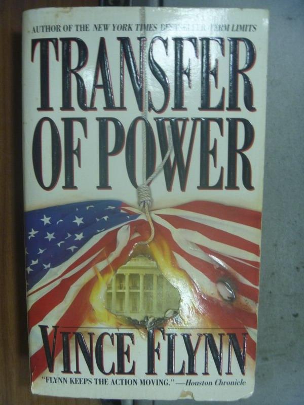 【書寶二手書T6/原文小說_OSV】Transfer of Power_Vince Flynn