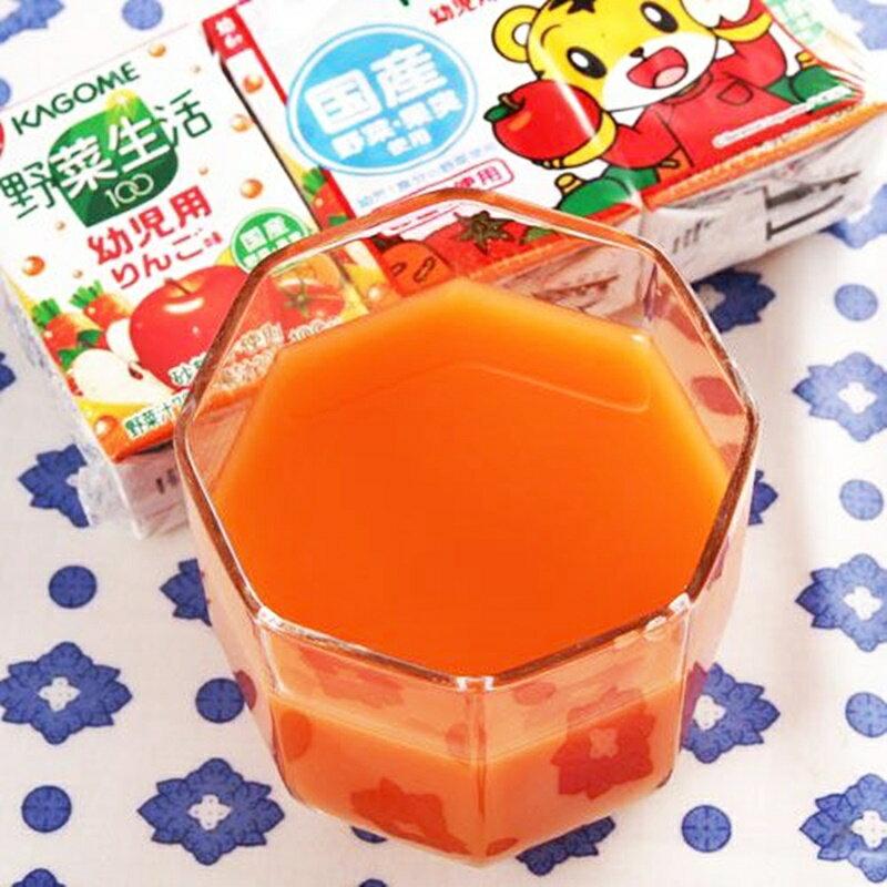可果美巧虎野菜汁-蘋果 100ml【49878110】(日本飲品) 1