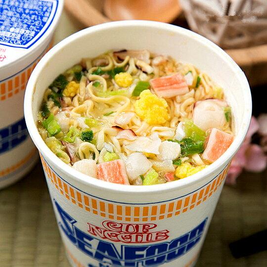 【NISSIN日清】海鮮即食杯麵 75g 日本進口美食 3.18-4 / 7店休 暫停出貨 2