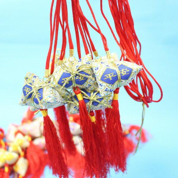 平安香包 粽子香包 項鍊式手工(成品) / 一包10個入 { 促80 }  端午節香包~4762 4
