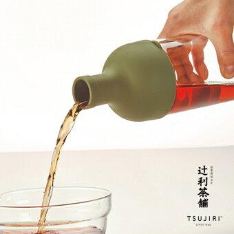 【辻利茶舗 x HARIO】酒瓶冷泡茶壺750ml (紅) 創新設計,高品質玻璃瓶身,附可拆式濾網,沖泡簡易,清洗方便。原廠公司貨。 4