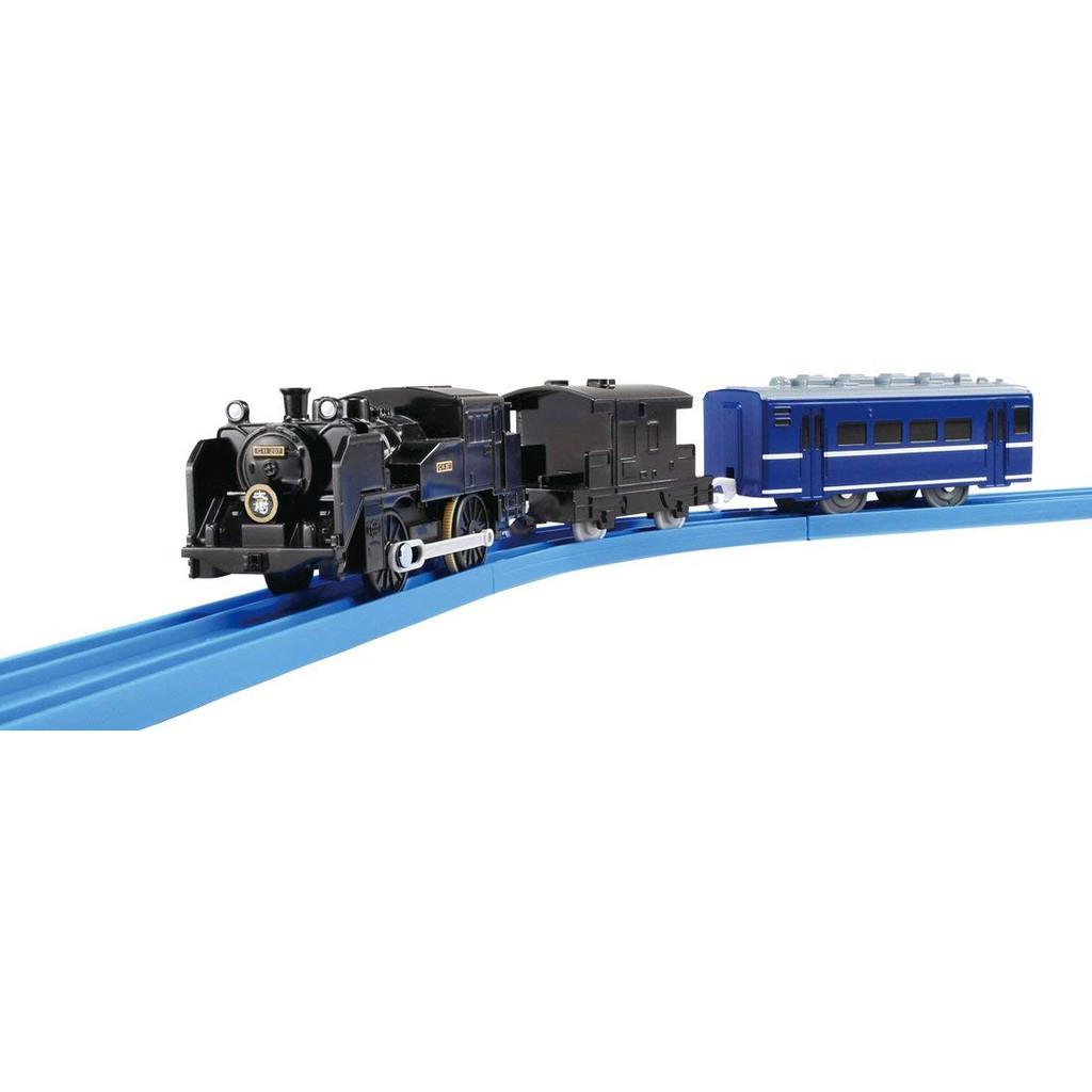 【預購】日本進口鐵道王國 蒸汽機車S-51 SL大樹/S-51 SL人吉号Takara Tomy Plarail【星野日本玩具】