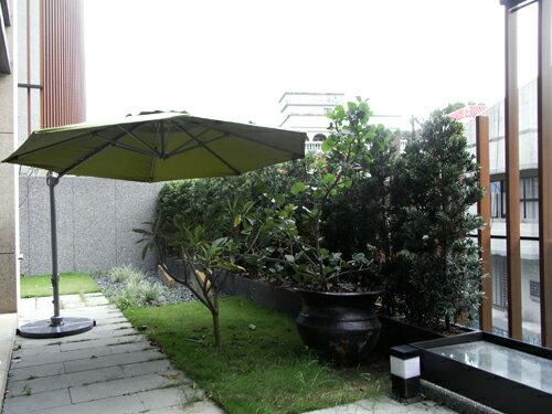 HARBO 戶外傘 圓形大吊傘 【7OCEANS七海休閒傢俱】蘋果綠 2