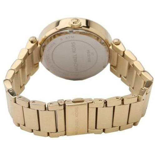 Michael Kors Parker Logo Glitz Gold-Tone Ladies Watch MK5784 2