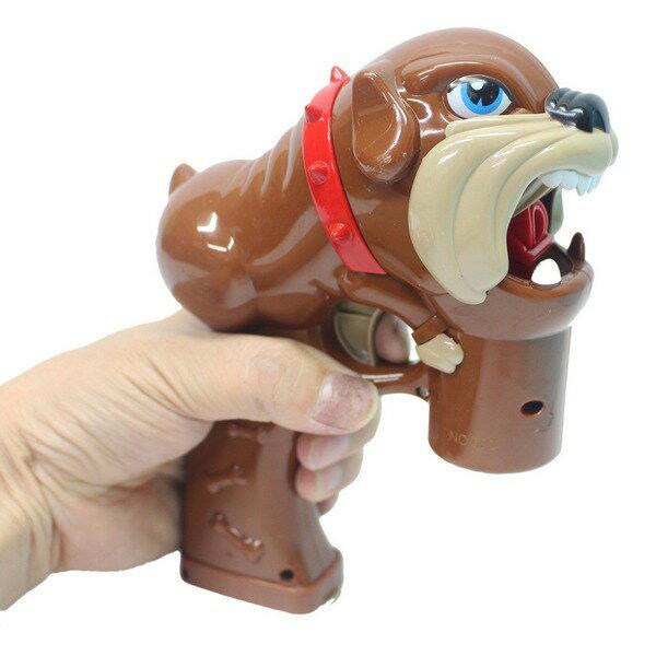 惡犬泡泡槍 自動吹泡泡槍+泡泡水(附電池) / 一袋5支入 { 促180 }  聲光電動泡泡槍~CF138616 4