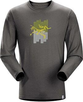 Arcteryx 始祖鳥/排汗衣 Towers T-Shirt LS 男款 圓領長袖T恤/透氣棉T 16425 鐵砧灰 Arc\